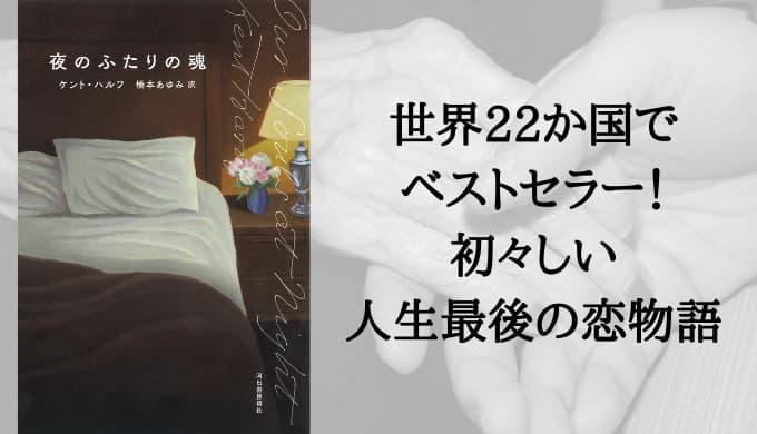 『夜のふたりの魂』あらすじと感想【初々しい人生最後の恋愛】世界22か国でベストセラー