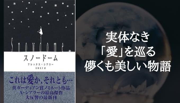『スノードーム』あらすじと感想【2人の男が捜し求めた孤独な「光」】