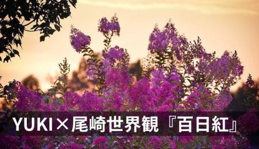 """『百日紅』YUKI【YUKI×尾崎世界観のタッグによる""""嗚呼、良い""""曲】"""