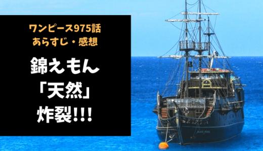 ワンピース ネタバレ最新話975話感想【錦えもんの天然が炸裂!!】