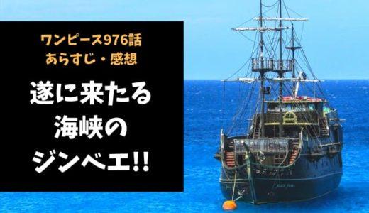 ワンピース ネタバレ最新話976話感想【遂に来たる海峡のジンベエ!!みんなの士気がモリモリ】