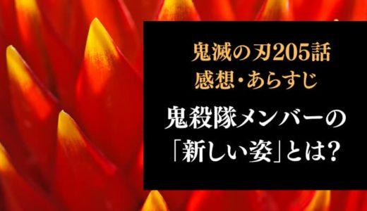 鬼滅の刃 ネタバレ最終回205話感想【鬼殺隊メンバーの「新しい姿」とは?感動のラスト!】