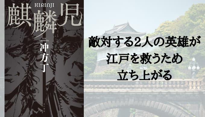『麒麟児』あらすじと感想【敵対する2人の英雄が江戸を救うため立ち上がる】