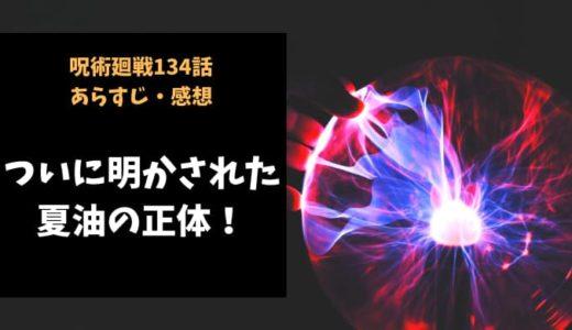 呪術廻戦 ネタバレ最新話134話感想【ついに明かされた夏油の正体!】