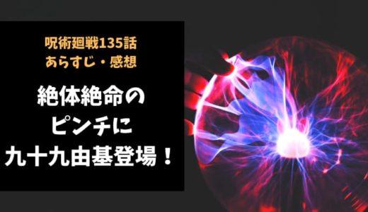 呪術廻戦 ネタバレ135話感想【絶体絶命のピンチに九十九由基登場!】