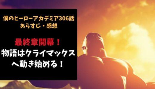 ヒロアカ ネタバレ306話感想【最終章開幕!物語はクライマックスへ動き始める!】